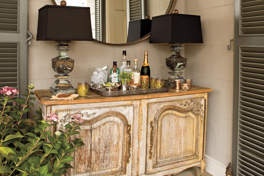 Charleston Home Piazza: Add Furniture With Function