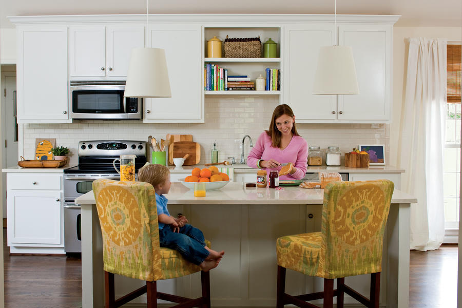 Affordable Decorating Ideas: Stock Cabinetry