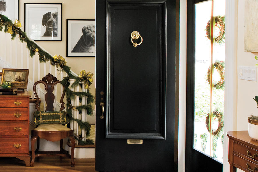Christmas Decorating Ideas: Three Wreaths