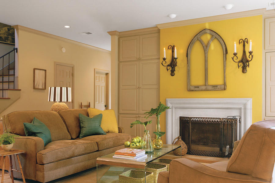 Family Room Makeover After