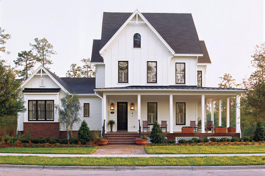 kinsley place plan 1131 - House Plans With Porches