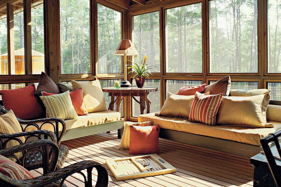 Screened Family Porch