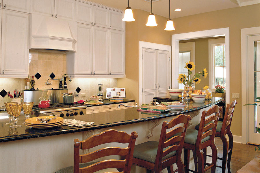 Family Room Kitchen