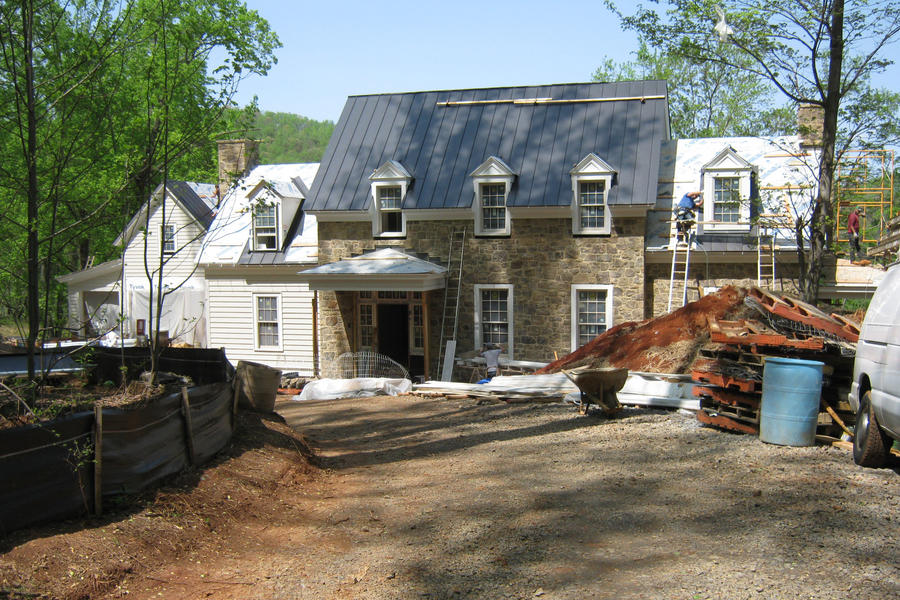 Idea House Construction Exterior