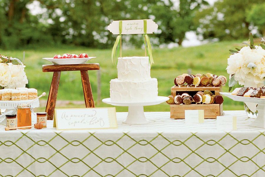 Tupelo Honey Wedding Cake