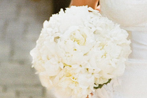 White Garden Wedding Bouquet