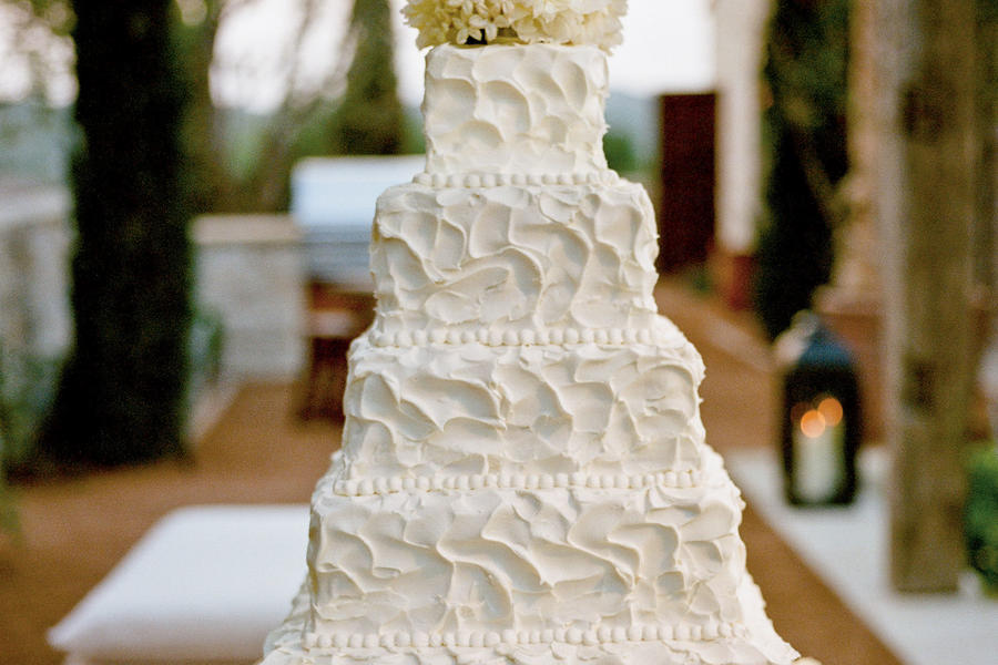 Natural Elegance Wedding Cake