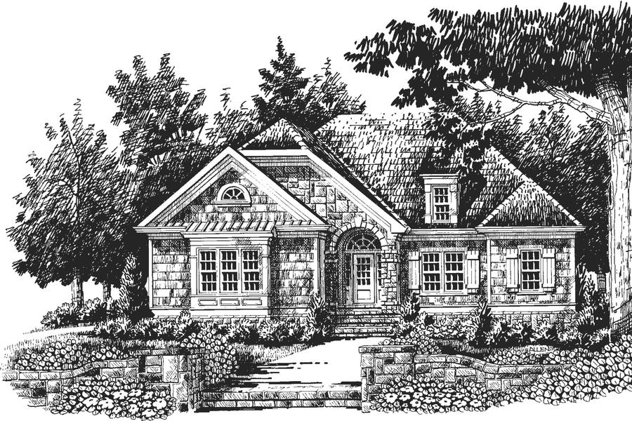 The Maple Ridge, Plan #442