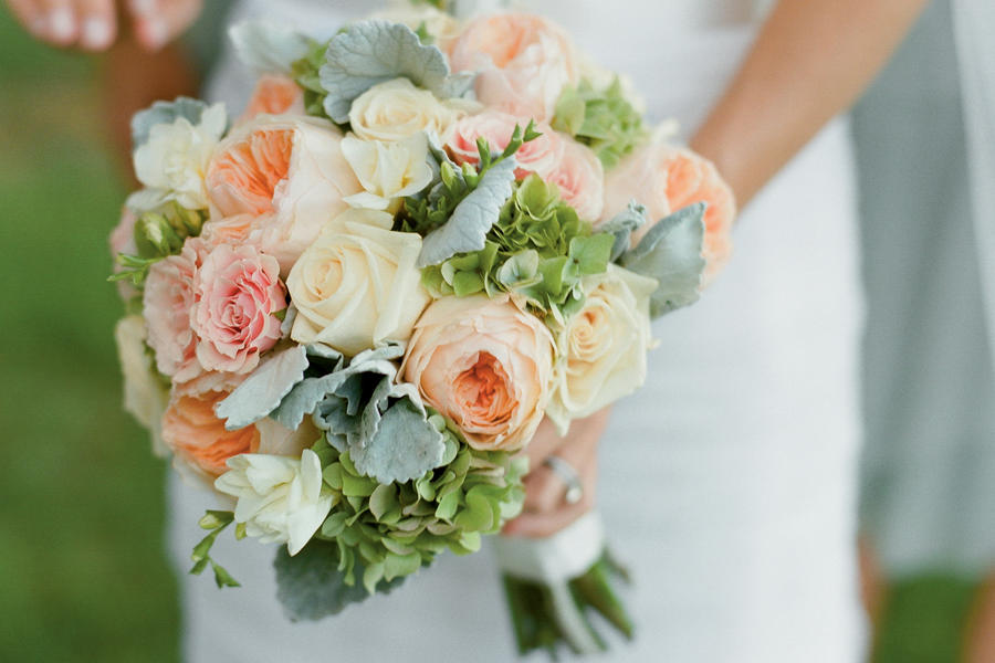 Dusty Miller Wedding Flowers
