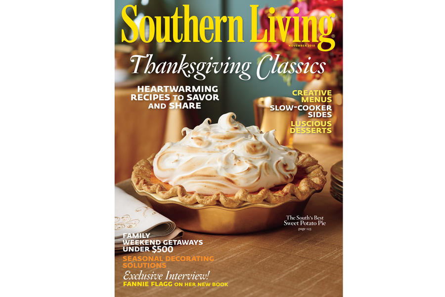 Southern Living Recipe: Sweet Potato Pie with Marshmallow Meringue