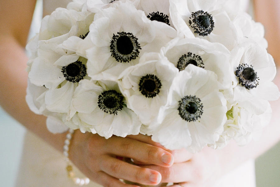 Anemone Wedding Flowers