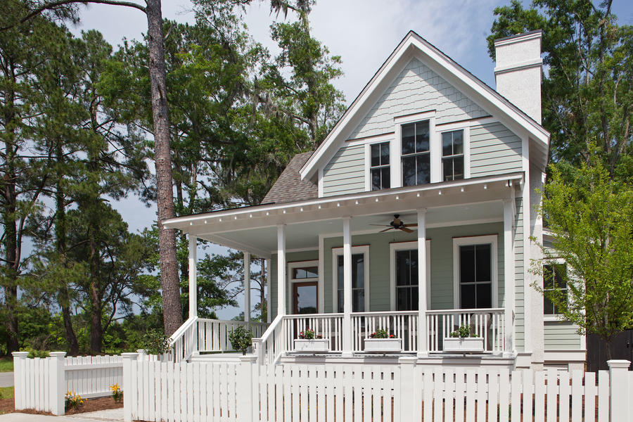 Southern living inspired home at habersham southern living for Habersham house plans