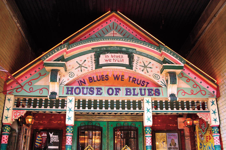 Best Southern Travel Destinations: House of Blues