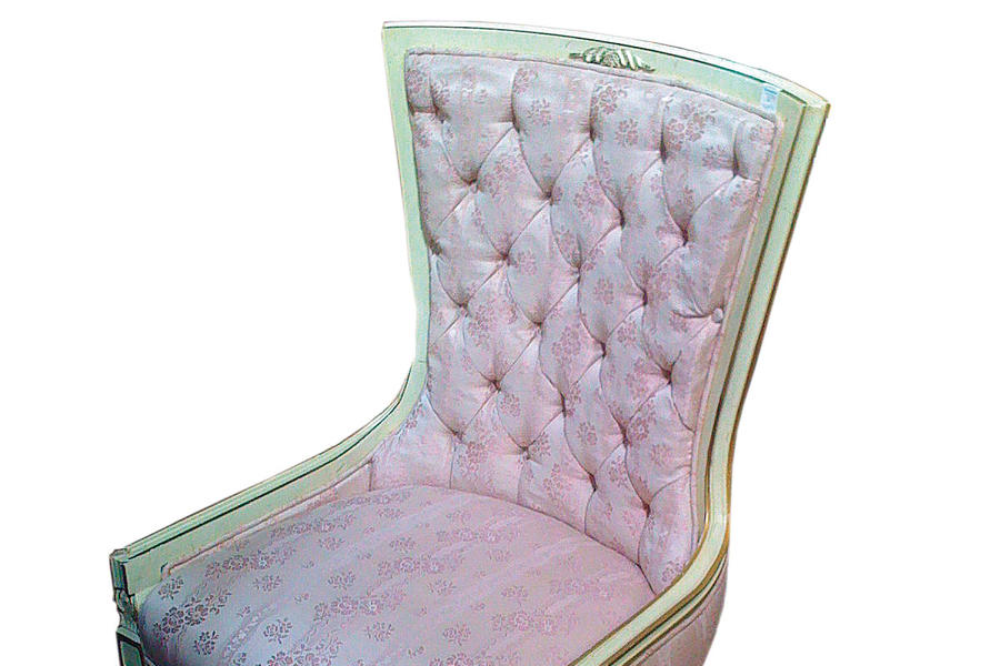 Guest Bedroom Makeovers: Antique Chair Before