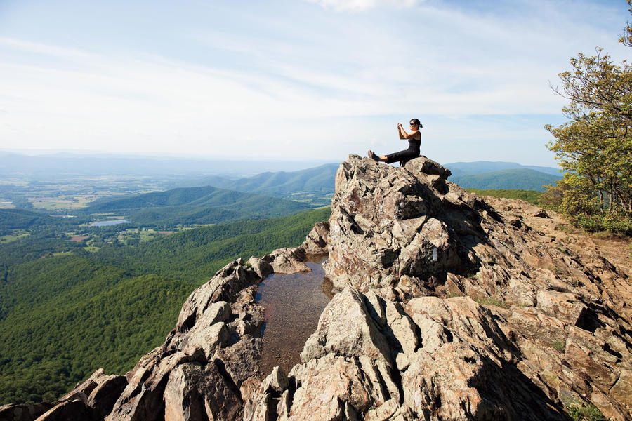 Shenandoah National Park Hiking and Cabins: Overlooks