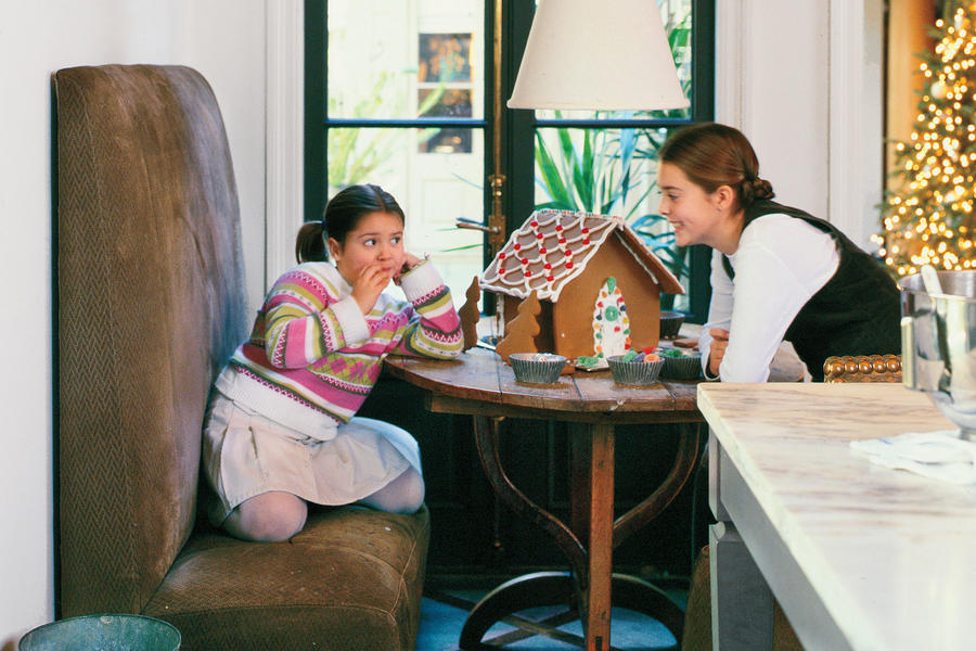 Christmas Decorating Ideas: Breakfast Nook