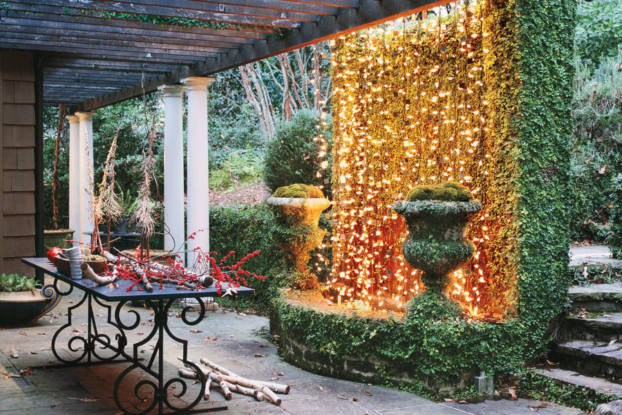 Christmas Decorating Ideas: Twinkling Lights