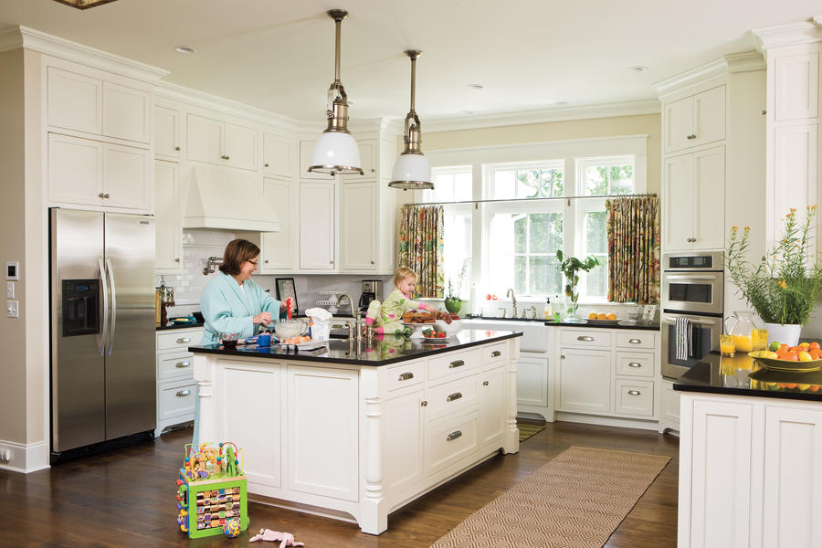 Detailed white kitchen all time favorite white kitchens for California style kitchen