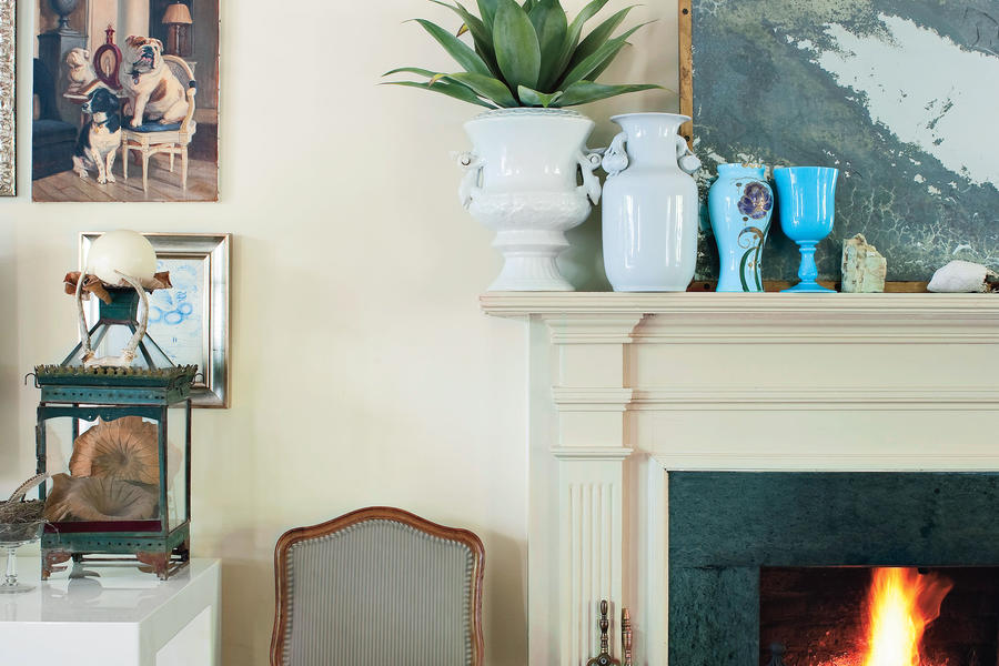 Neutral Fireplace - 25 Cozy Ideas for Fireplace Mantels ...