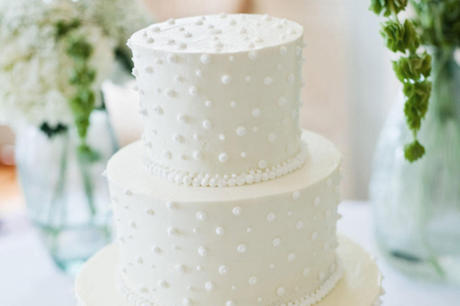swiss dot wedding cake pictures swiss dot wedding cake white wedding cakes southern living 20706