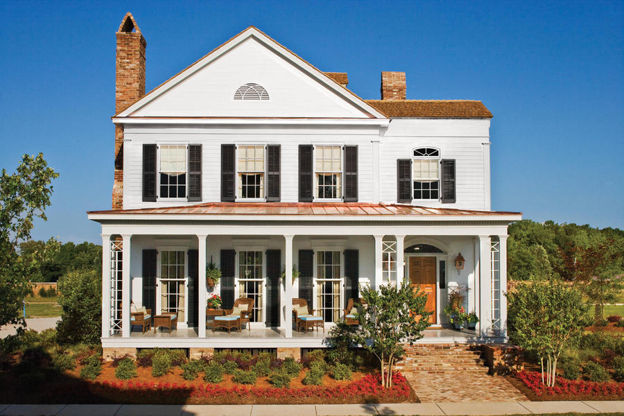 Southern House Plans With Porches One Story