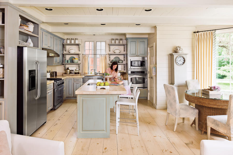 L-Shaped Kitchen - Kitchen Layouts and Essential Spaces - Southern ...