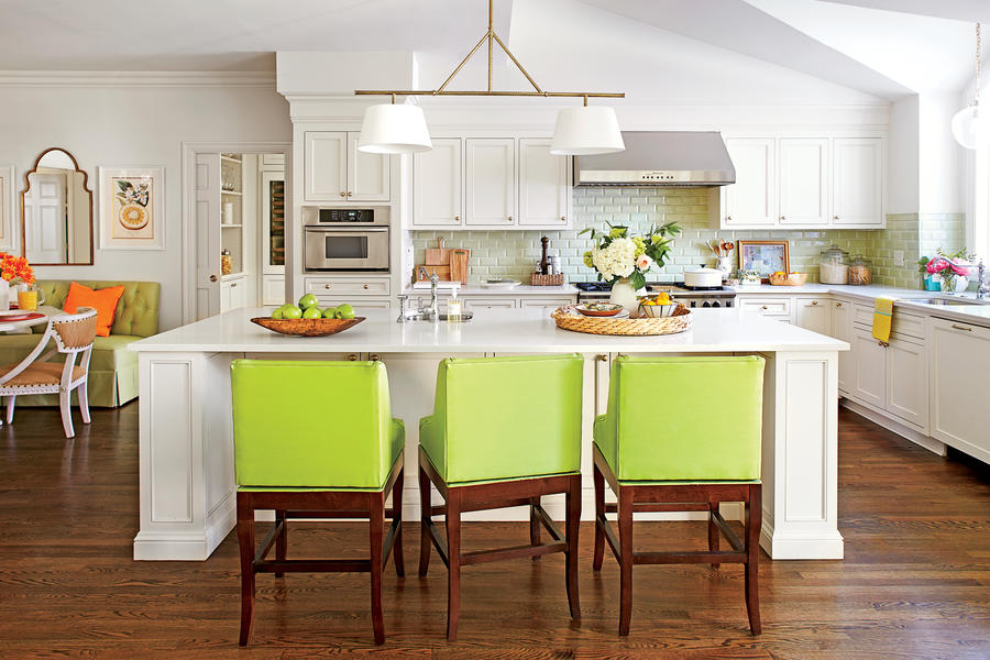 beautiful Decorating Kitchen Islands #4: Gathering Island