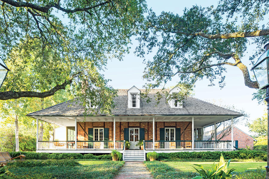 Baton Rouge Beauty Charming Home Exteriors Southern Living