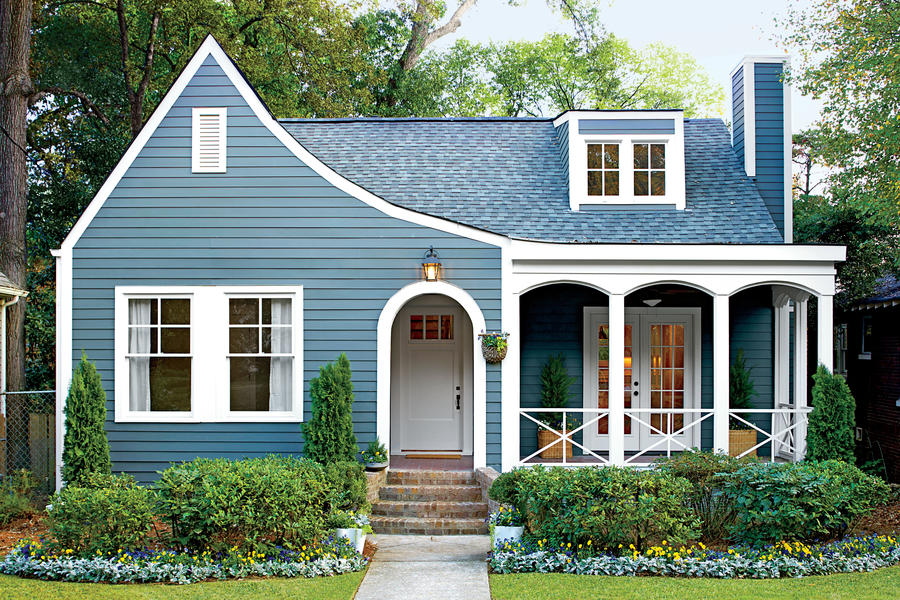Charming Cottage Makeover Home Exteriors