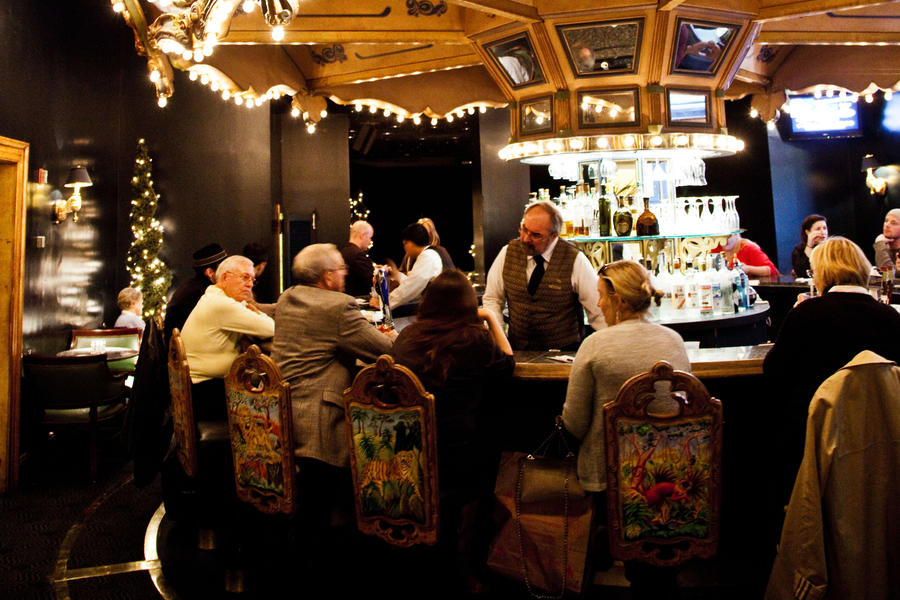Carousel Bar & Lounge at Hotel Monteleone, New Orleans, Louisiana
