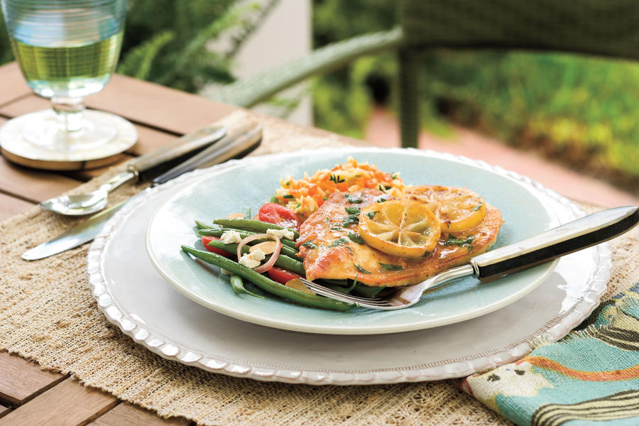 Quick and Easy Summer Party Menu: Lemon Chicken