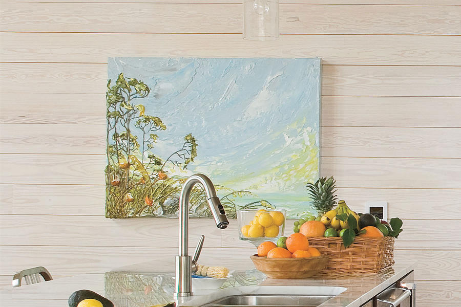 Kitchen Design Ideas: Unexpected Artwork