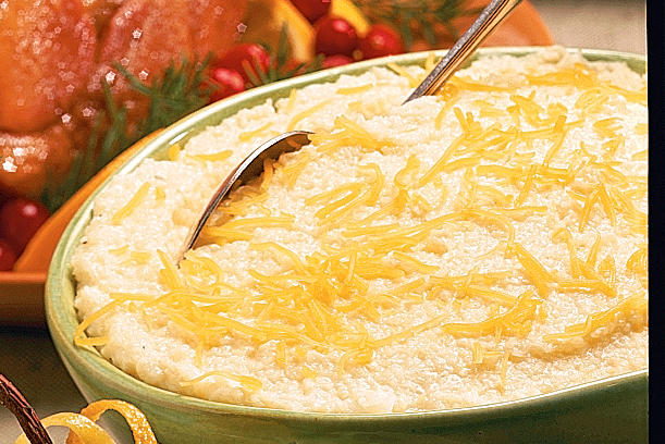 Brunch Recipes: Baked Cheese Grits Recipes