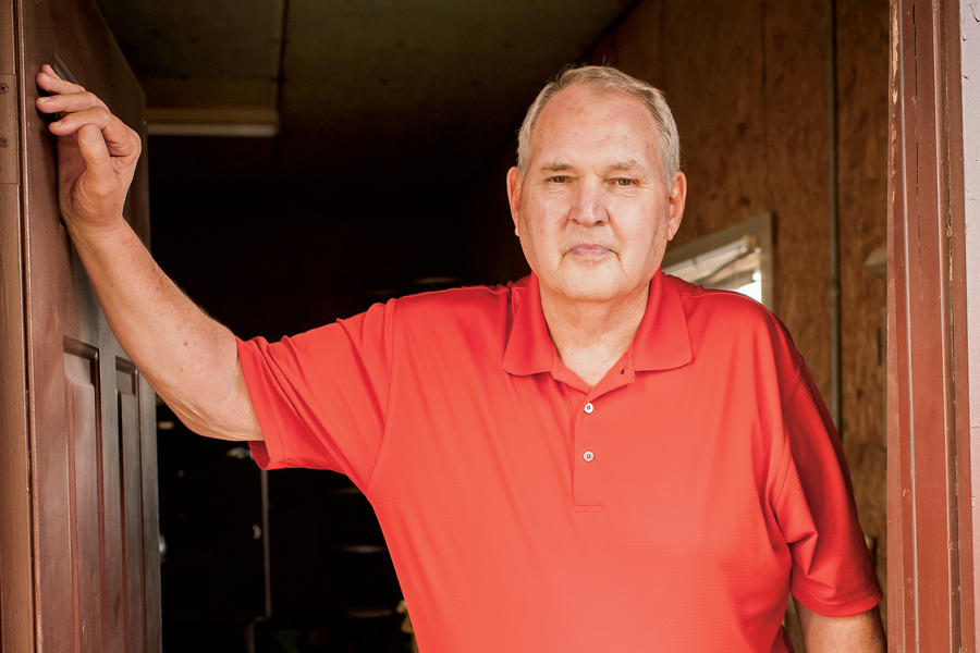 Jack Easley of Marion Pit Bar-B-Que in Marion, Kentucky