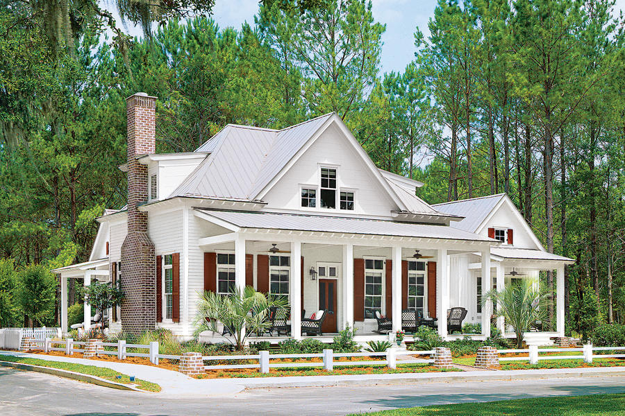Cottage of the year 2016 best selling house plans for House plans with guest houses southern living