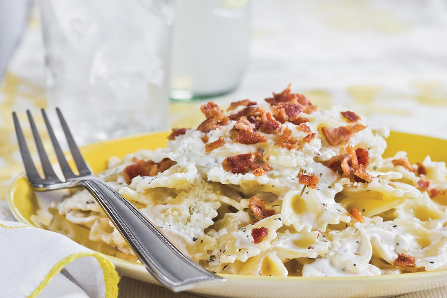 Quick and Easy Dinner Recipes: Bacon Bow Tie Pasta