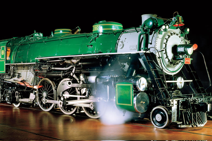 "National Museum of American History Top Sites: Southern Railway Locomotive ""1401"""