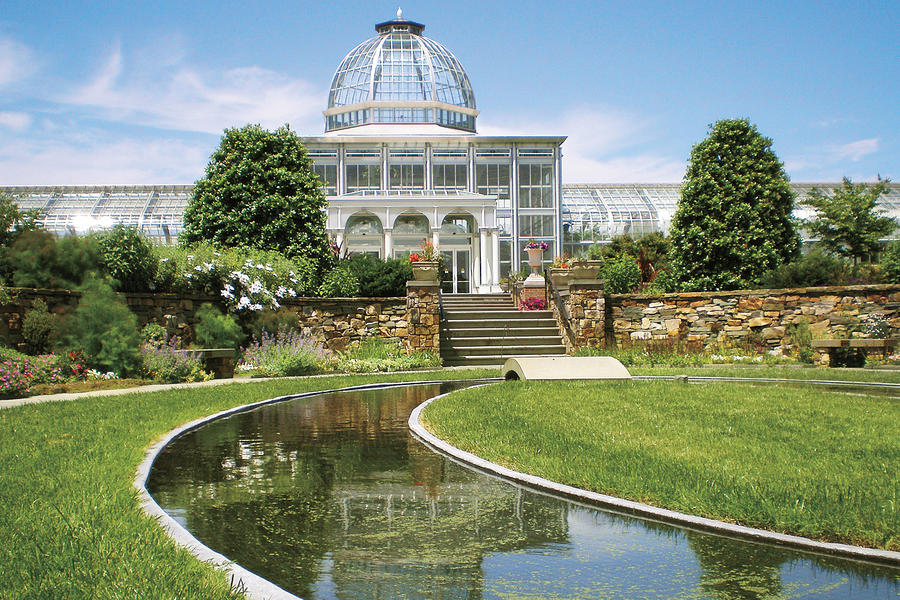 Family, Engagement, and Wedding Portrait Locations: Lewis Ginter Botanical Garden