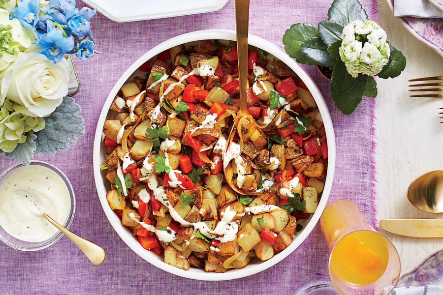 Potato hash may 2016 recipes southern living Bhg recipes may 2016