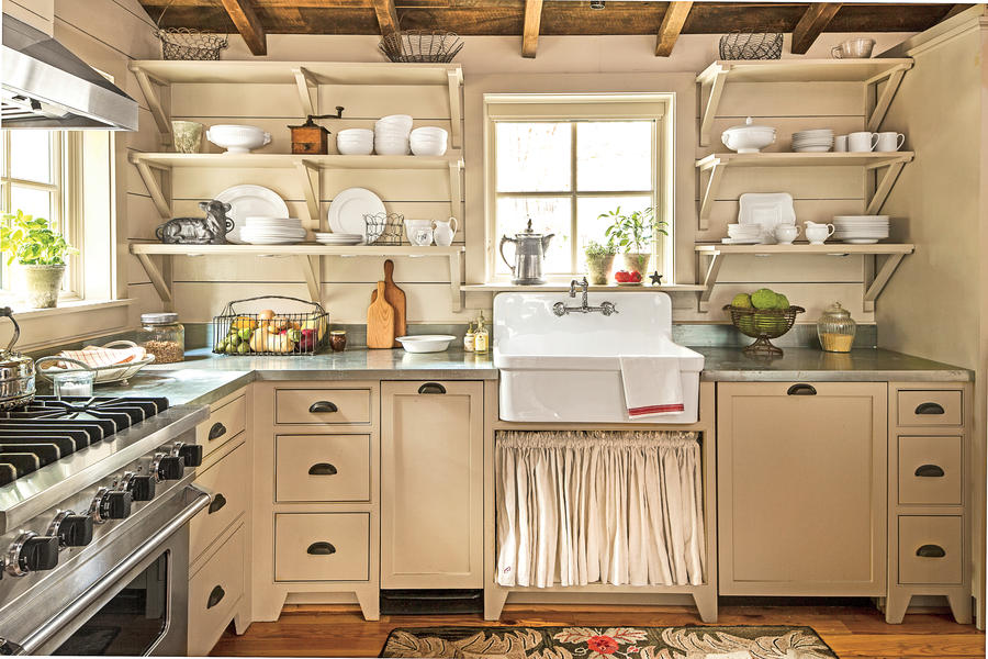 Shiplap in a Cabin Kitchen - 15 Ways with Shiplap ...