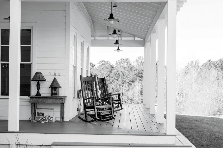Farmhouse Porch Before