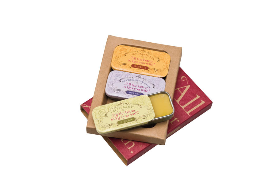 All the Better To Kiss You With Organic Lip Balms