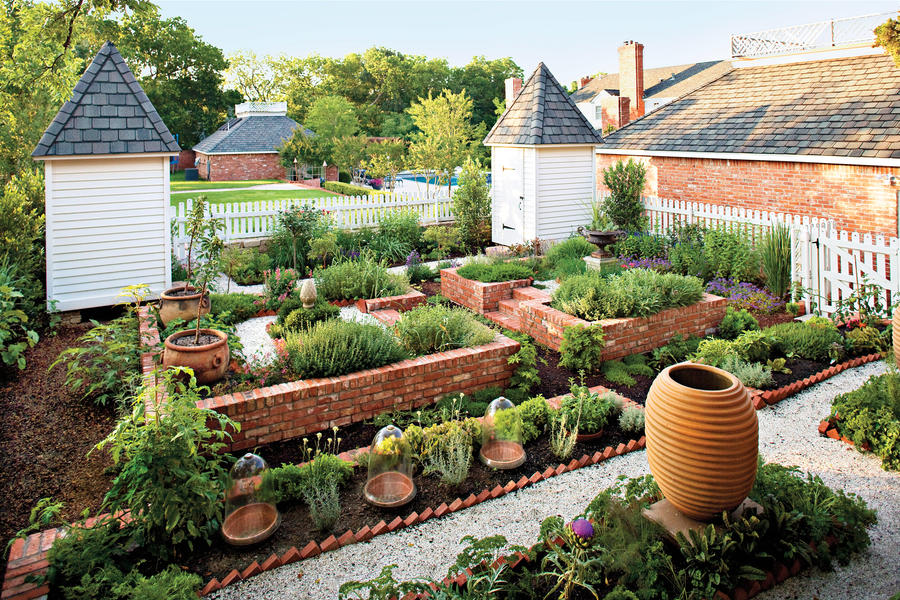 Plant a kitchen garden southern living Savvy home and garden