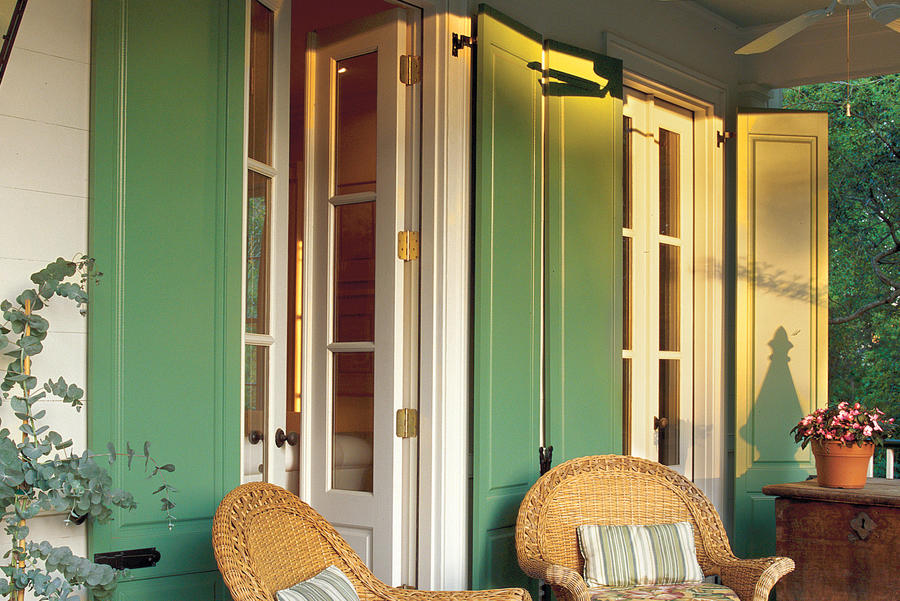 Jazz Up Your Patio Doors