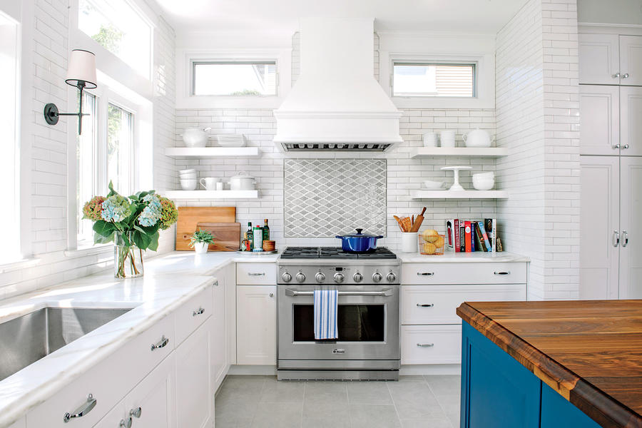 Bright White And Airy Kitchen All Time Favorite White