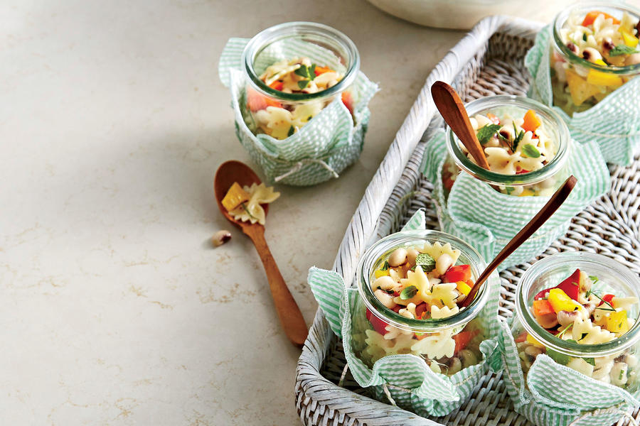 Field Pea and Pasta Salad