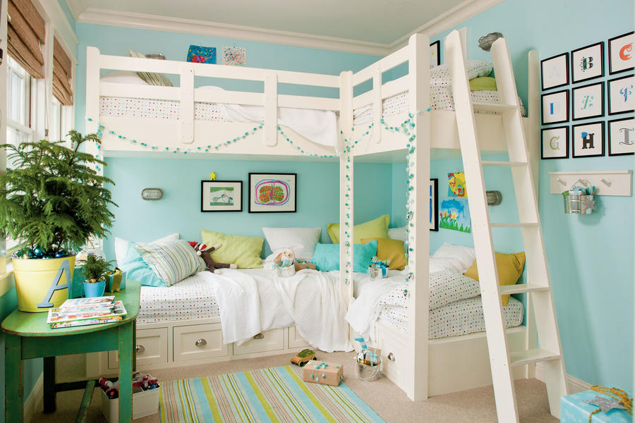 Beautiful Blue Bedrooms