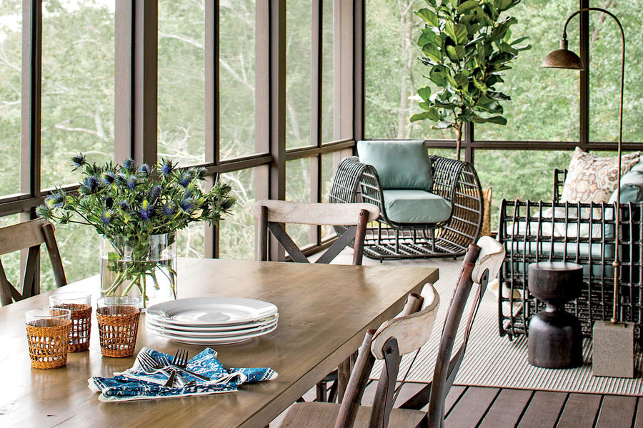 The Porch Serene Lakefront Hideaway Southern Living