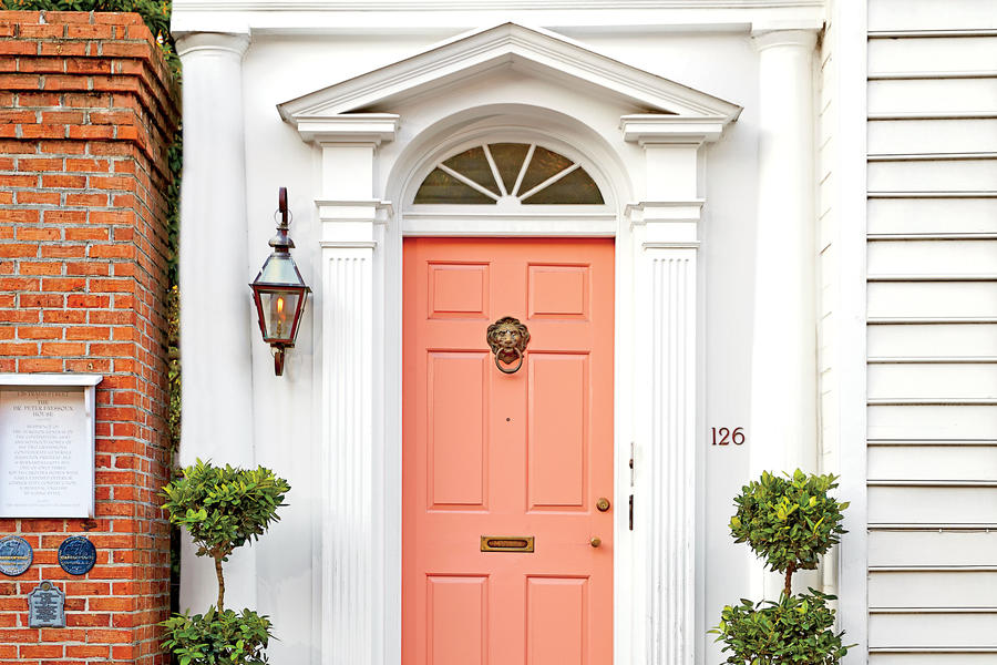 Coral 13 Bold Colors For Your Front Door Southern Living