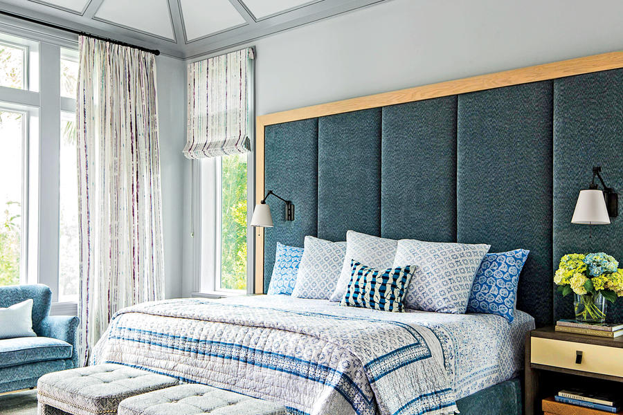 misty beach blues beautiful blue bedrooms southern living